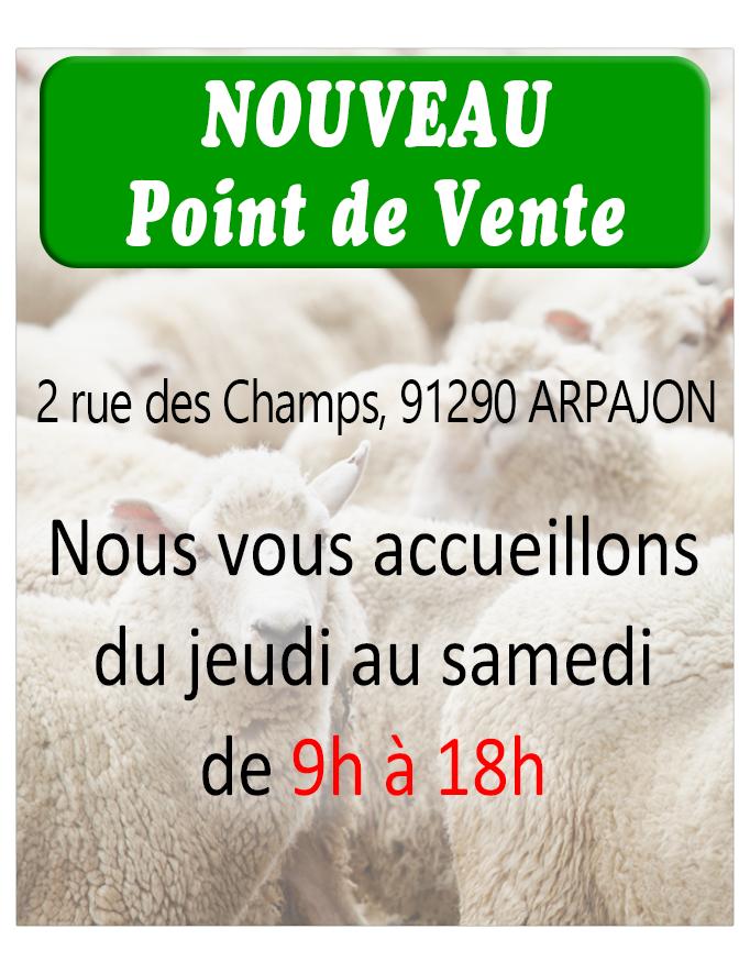 vente de viande Halal à Arpajon (91)